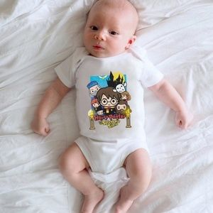 Harry Potter Sorcerer's Stone Baby Onsie 9-12M